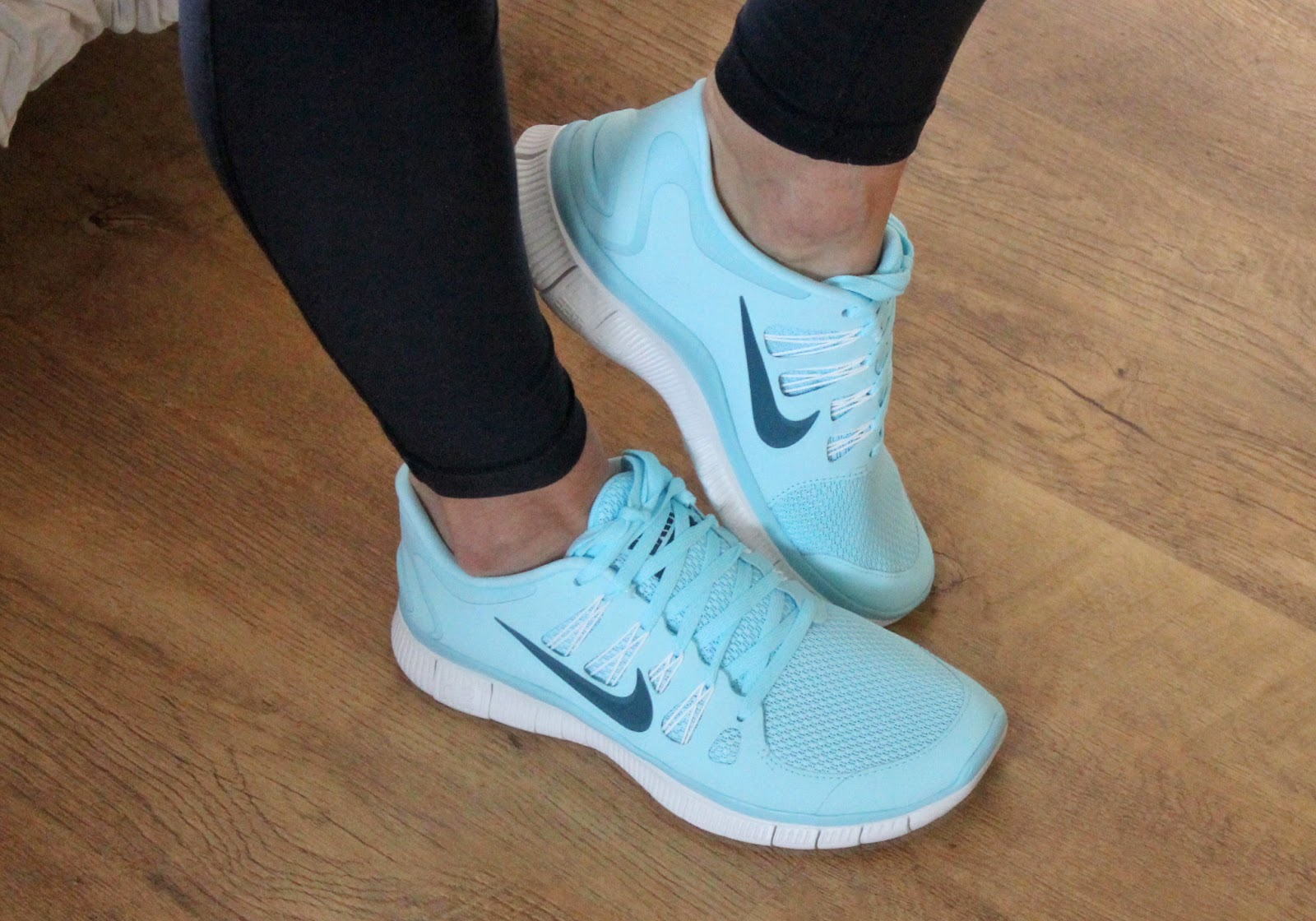 Nike Free 5.0 Blu E Rosa