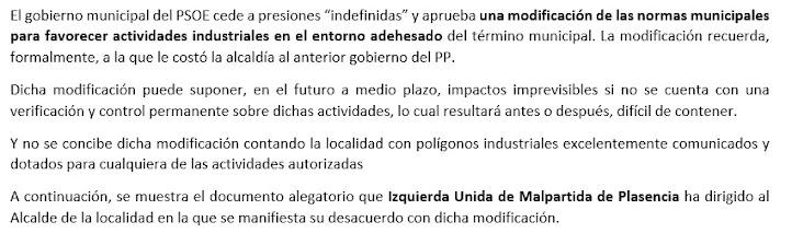 ANÓMALA MODIFICACIÓN DE NORMAS MUNICIPALES