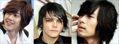 gaya rambut kasual medium pria