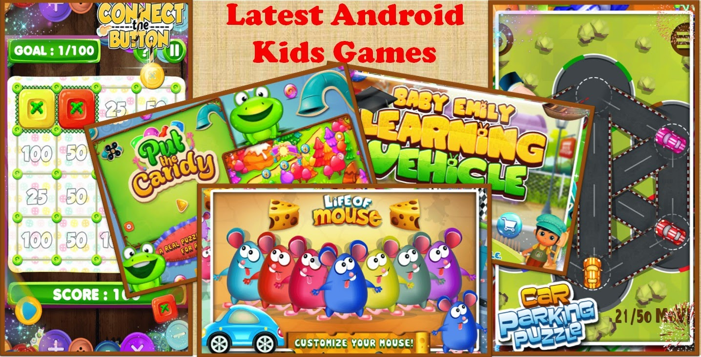 latest android kids games