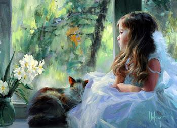 Cuadros Pinturas de Niñas