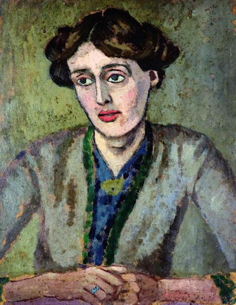 Art Talk - foredrag om kunst. Roger Fry: Portræt af Virginia Woolf, ca. 1917