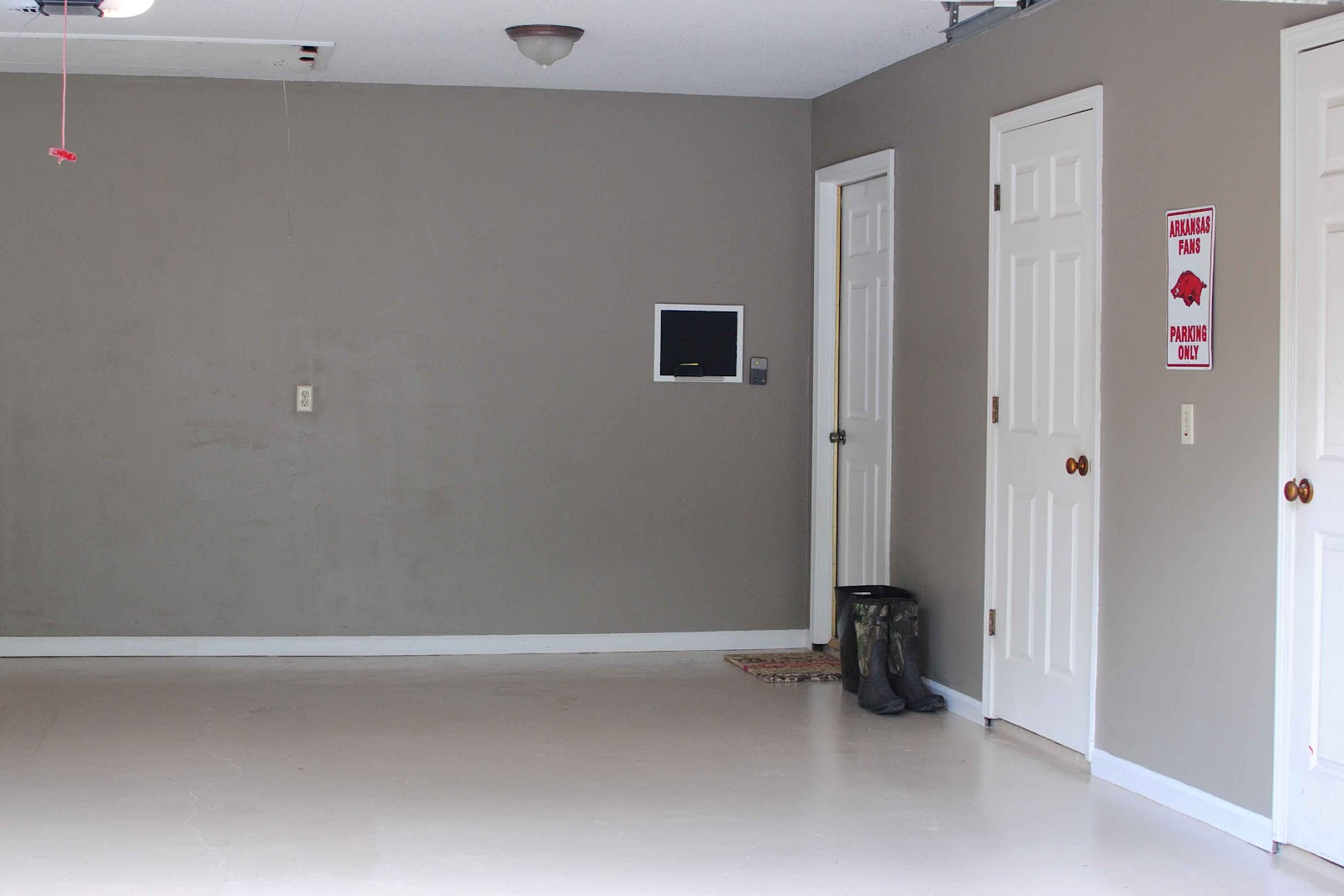 THE NORTHENS: How To Remove Popcorn Ceiling u0026 A Garage Make-Over
