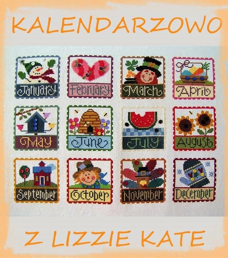 Kalendarzowo z Lizzie Kate