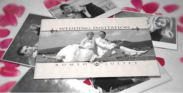 After Effects Project Wedding Invitation