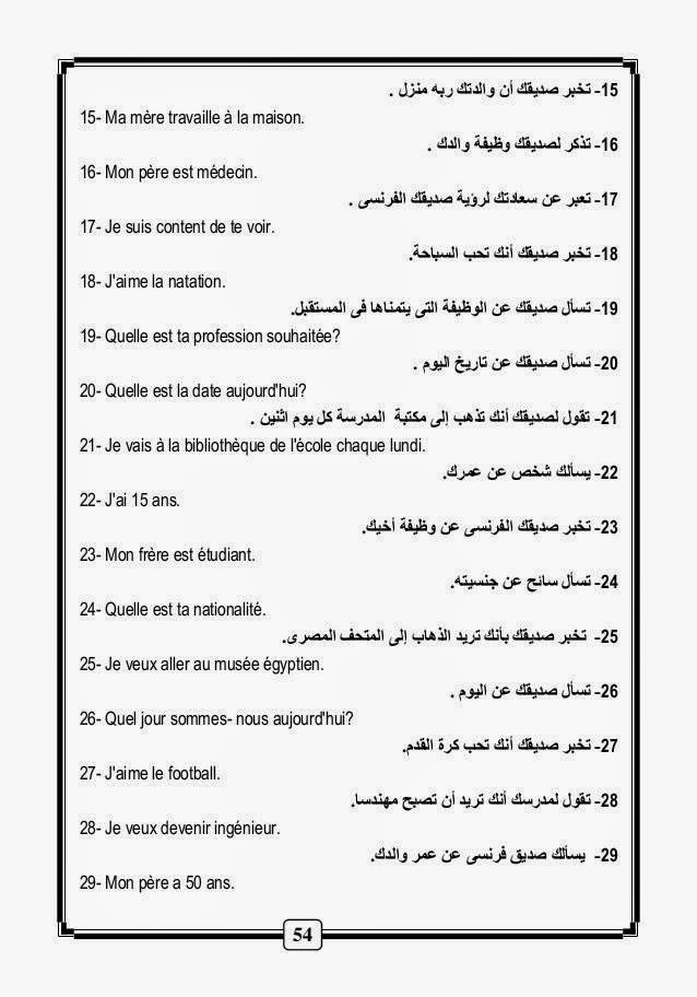 قواعد و أساسيات نطق الفرنسية لطلاب اللغات والحكومى مشروح عربى 10639691_10152870671