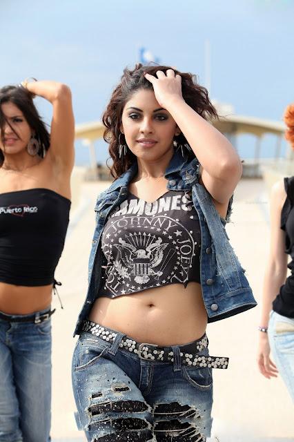 Actress Richa Gangopadhyay Navel Show Photos