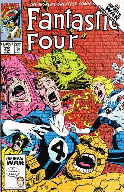 Fantastic Four 370 Cover Paul Ryan