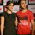 Sonam Kapoor Looks Super Cute In Black Dress At 'I Hate Luv Storys' Press Meet