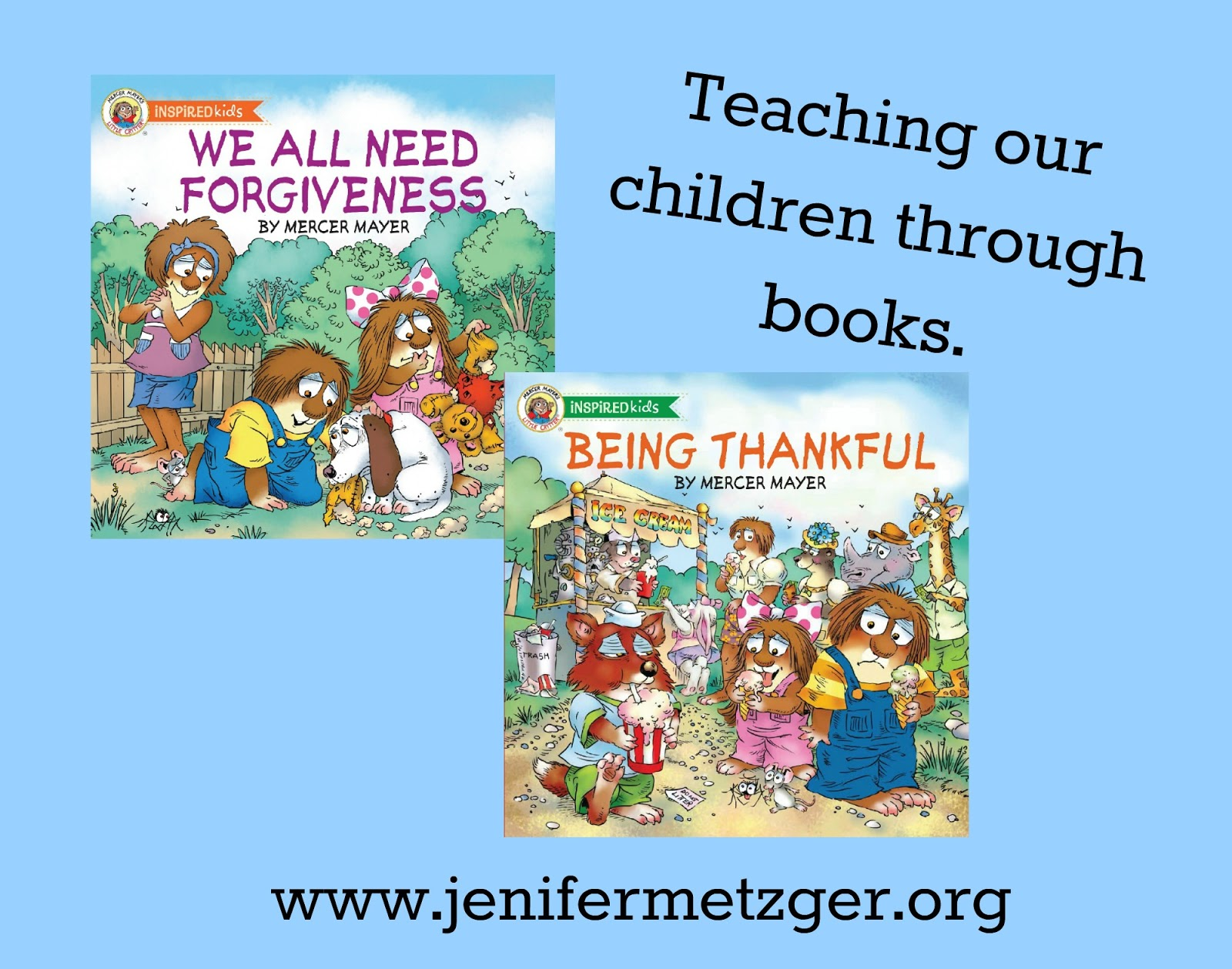 Teaching our kids about #forgiveness and #thankfulness through #LittleCritters. #parenting #childrensbook