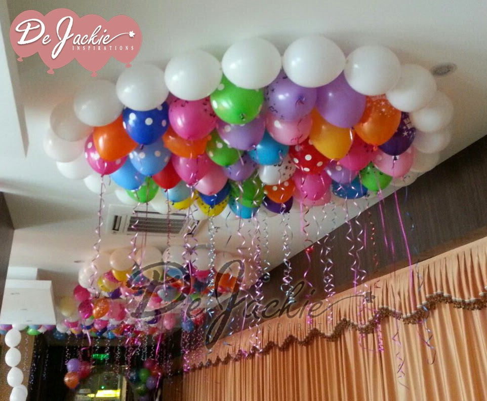 Balloon decorations for weddings birthday parties for Balloon decoration for birthday party at home