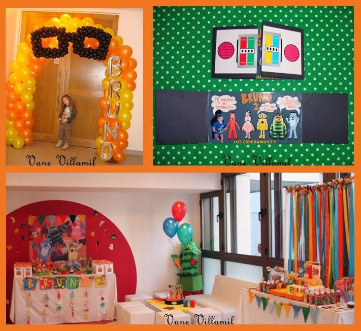 Invitación y decoración del salón