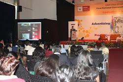 Addresing the media student gathering ,Media Pulse2010, at ISB&M Pune,