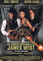 Baixar Filme As Loucas Aventuras de James West (Dublado) Gratis will smith salma hayek l kevin kline direcao barry sonnenfeld comedia aventura a 1999