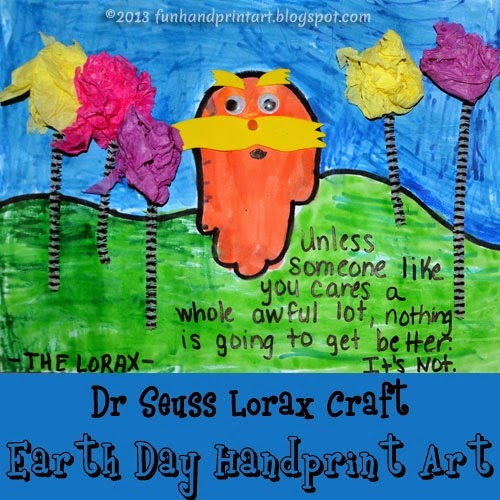 http://funhandprintart.blogspot.com/2013/03/dr-seusss-handprint-lorax-3d-art.html