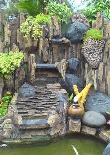 dekorasi taman dan kolam hias: penataan taman