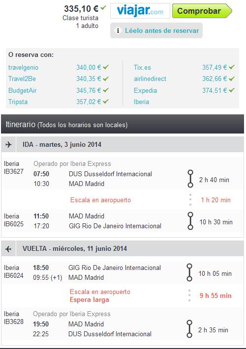 Brasil low cost en verano