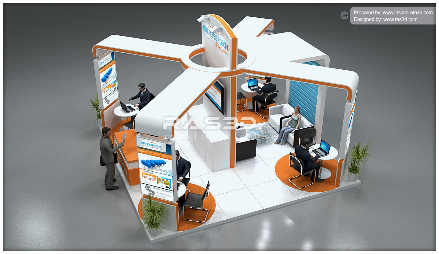 Exhibition Stand Design Concepts : D designer visualizer events exhibitions interiors