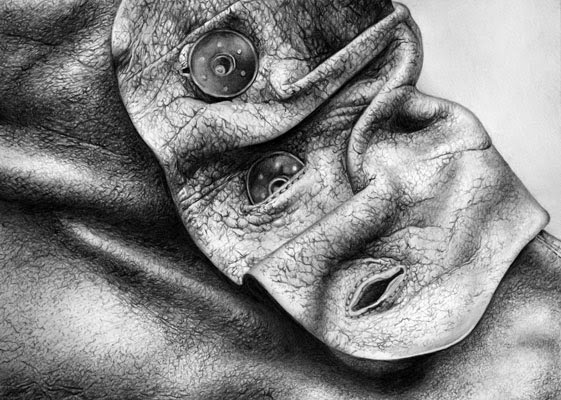 Cath Riley, dibujos hechos a lápiz