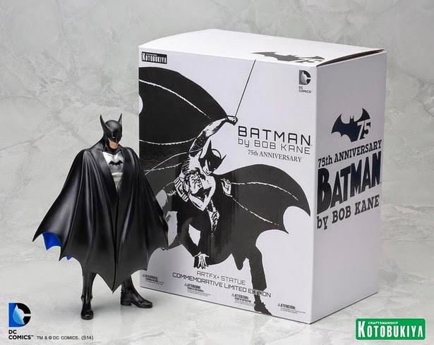 Figura Clásica Batman Kotobukiya Batman Bob Kane