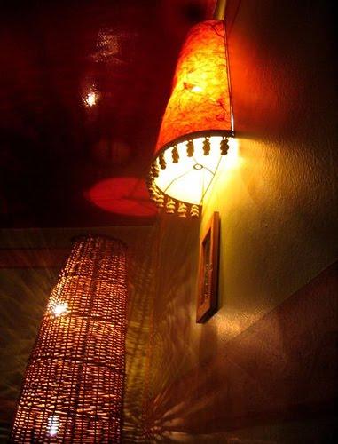 funky wall lamp