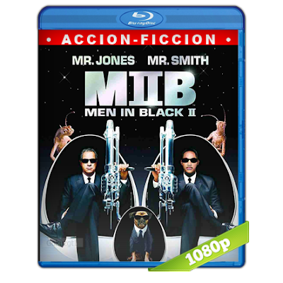 Hombres De Negro 2 (2002) BRRip Full 1080p Audio Trial Latino-Castellano-Ingles 5.1