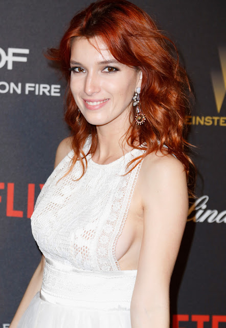 Actress, @ Dani Thorne - Weinstein Company and Netflix Golden Globe Awards After Party in LA
