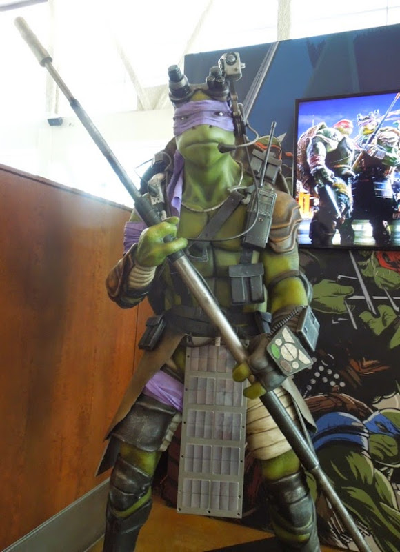 Life-size Donatello Teenage Mutant Ninja Turtles