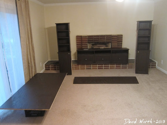 assemble tv stand