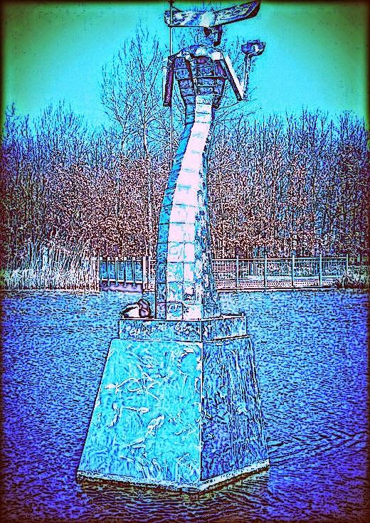 Wasserflöhe im Teich Icon