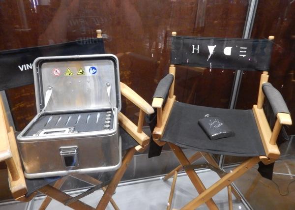 Screen-used Entourage movie props