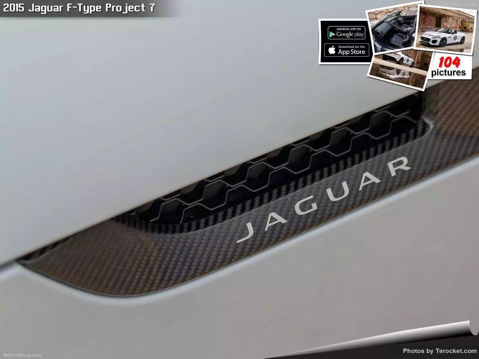 Hình ảnh xe ô tô Jaguar F-Type Project 7 2015 & nội ngoại thất