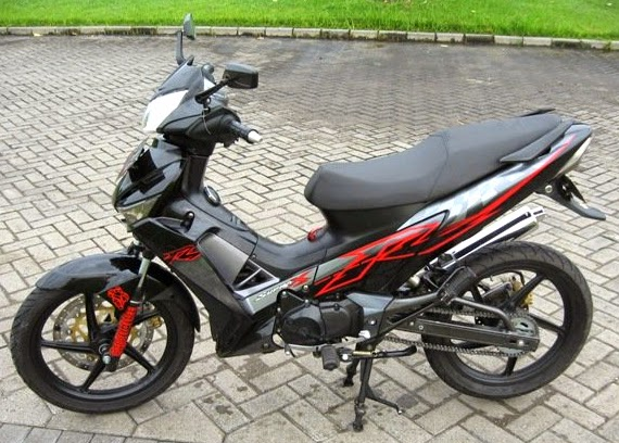 modifikasi motor supra x 125 tahun 2010