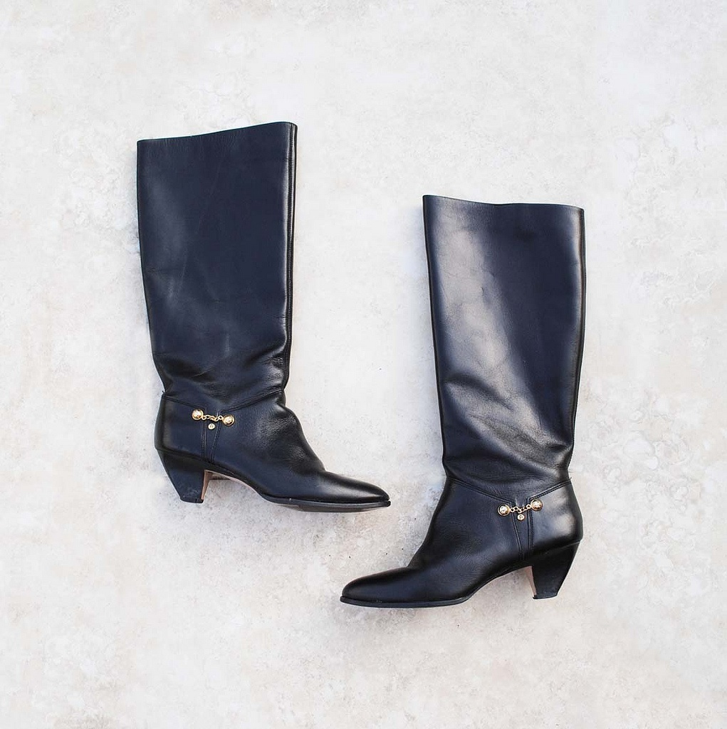 new arrival vintage leather boots plus
