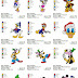 Donald, Goofy, Dora - 58 embroidery designs