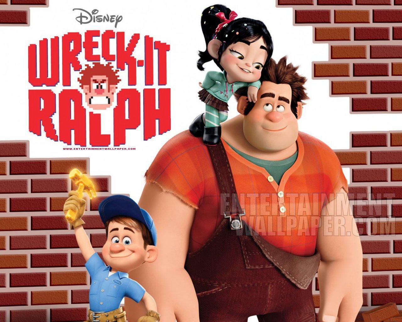 Wreck It Ralph Entertainment Wallpaper