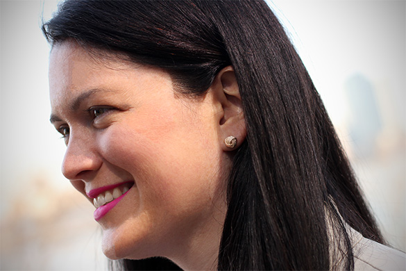 Tiffany & Co. knot earrings