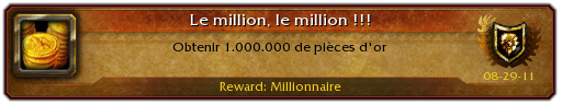 wow millionaire
