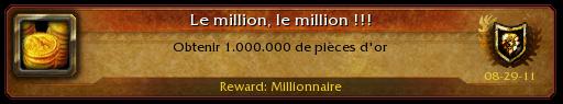 wow millionaire