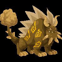 Dragón de tierra adulto