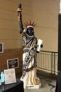 Miller park statue