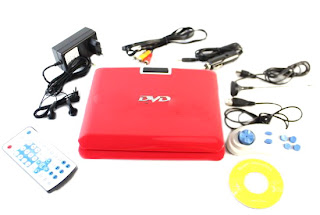Jual dvd player portable murah