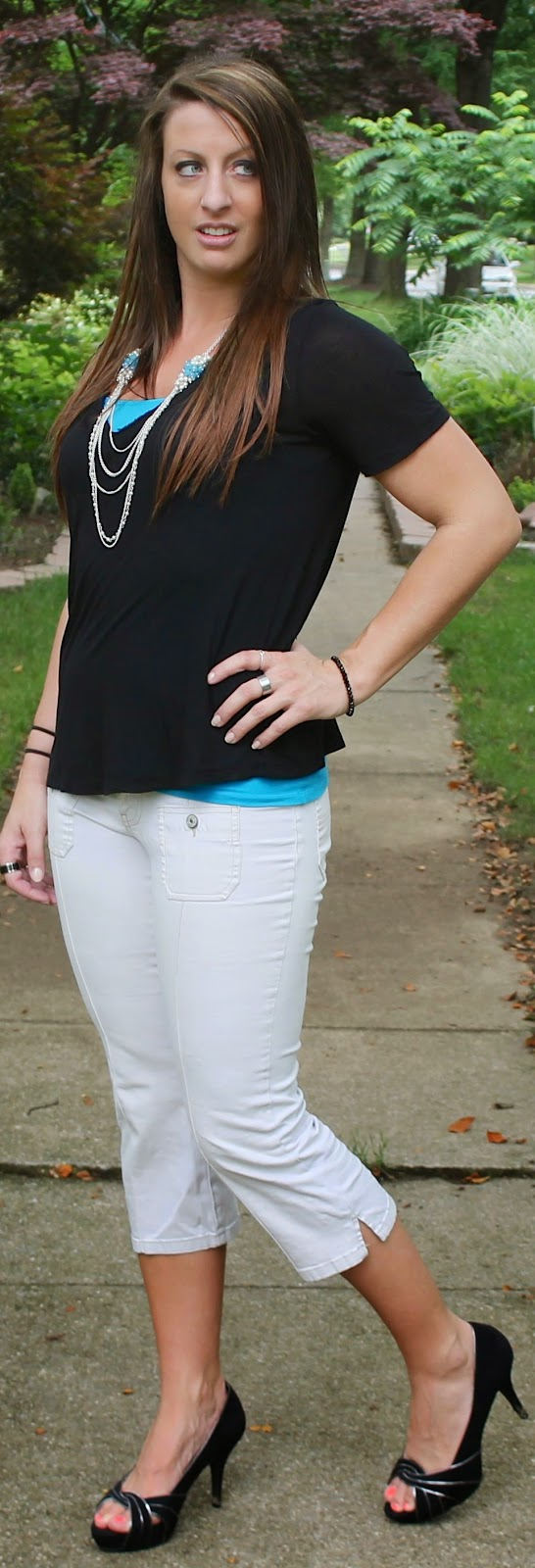 Sea of pearls LA, tiffany top, black shirt, outfit, fashion