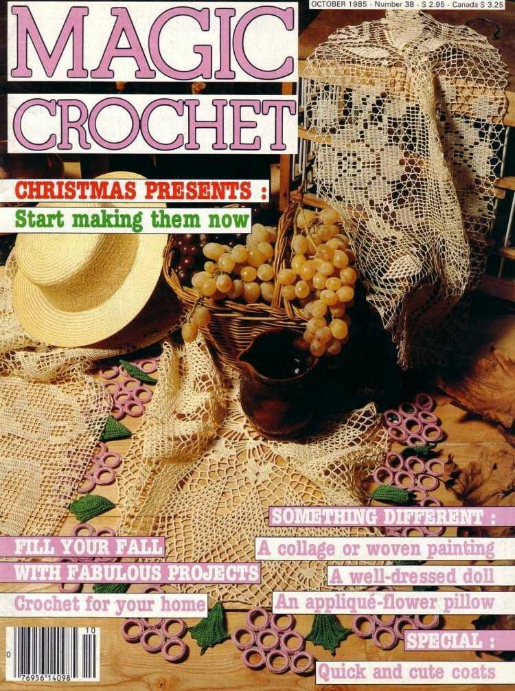 Magic Crochet No. 38 ~ Free Crochet Patterns