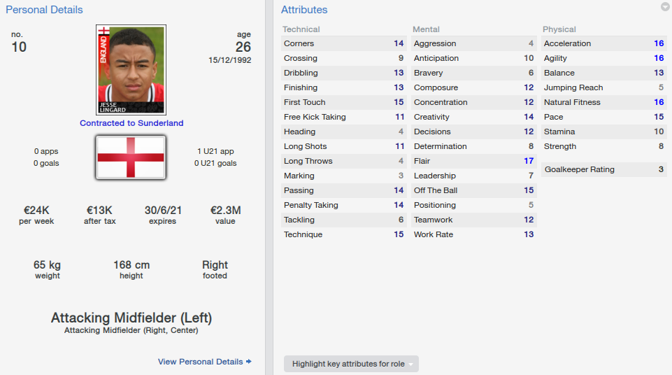 FIFA 19 Jesse Lingard Review | FUTBIN