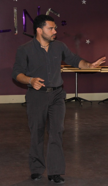 Alessio Redina in Hobart