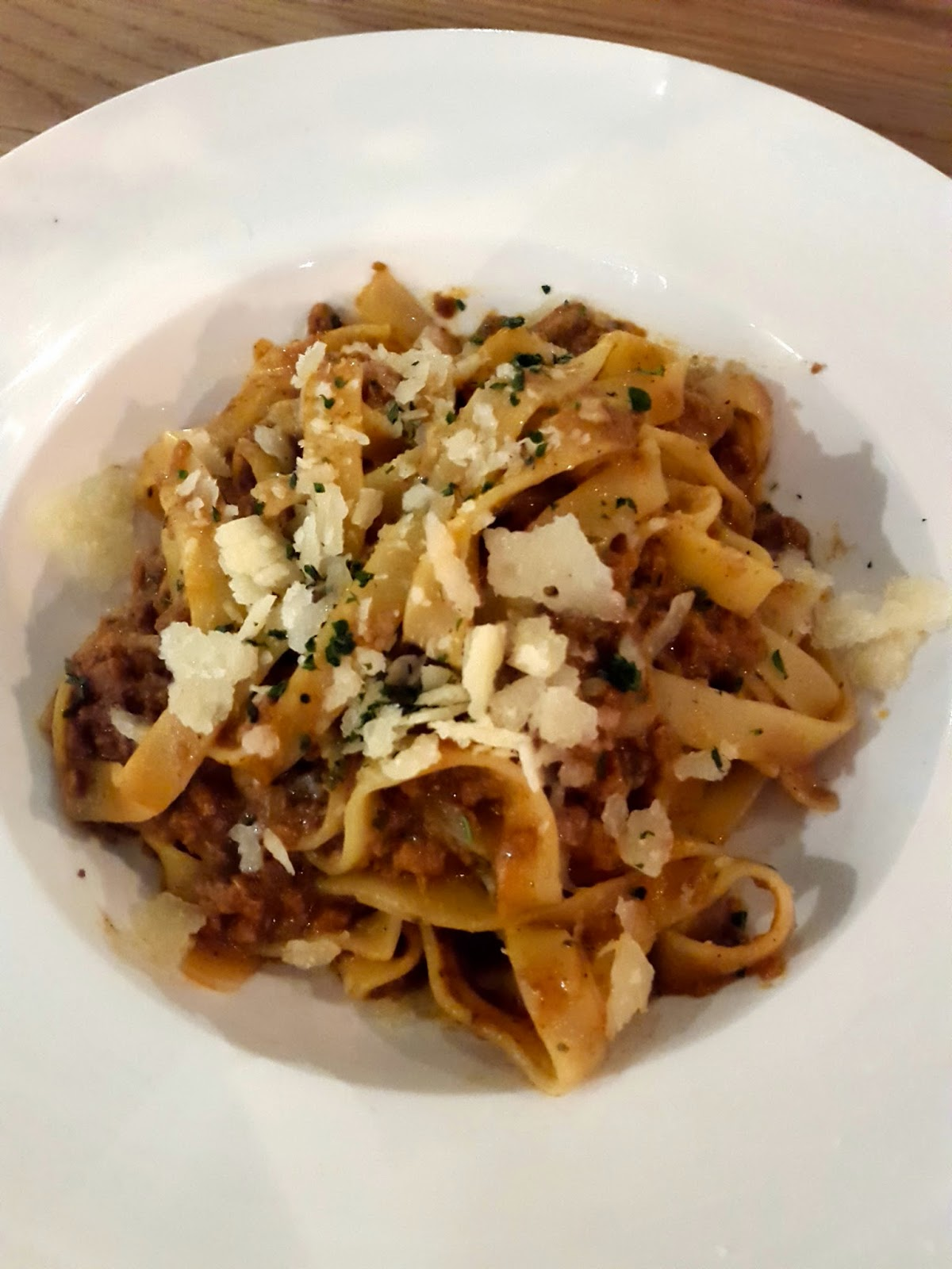 Bolognaise Pasta The Assembly Ground The Cathay Singapore