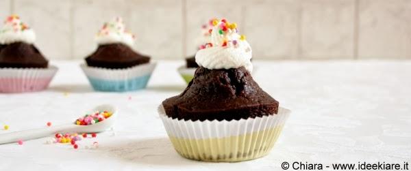 muffin veloci al cacao senza uova né burro