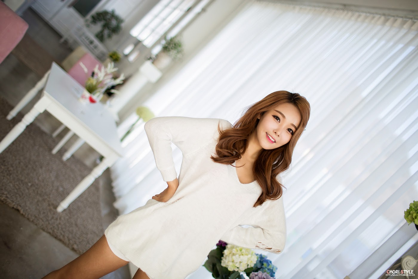 4 Lee Da Hee - Morning - very cute asian girl-girlcute4u.blogspot.com