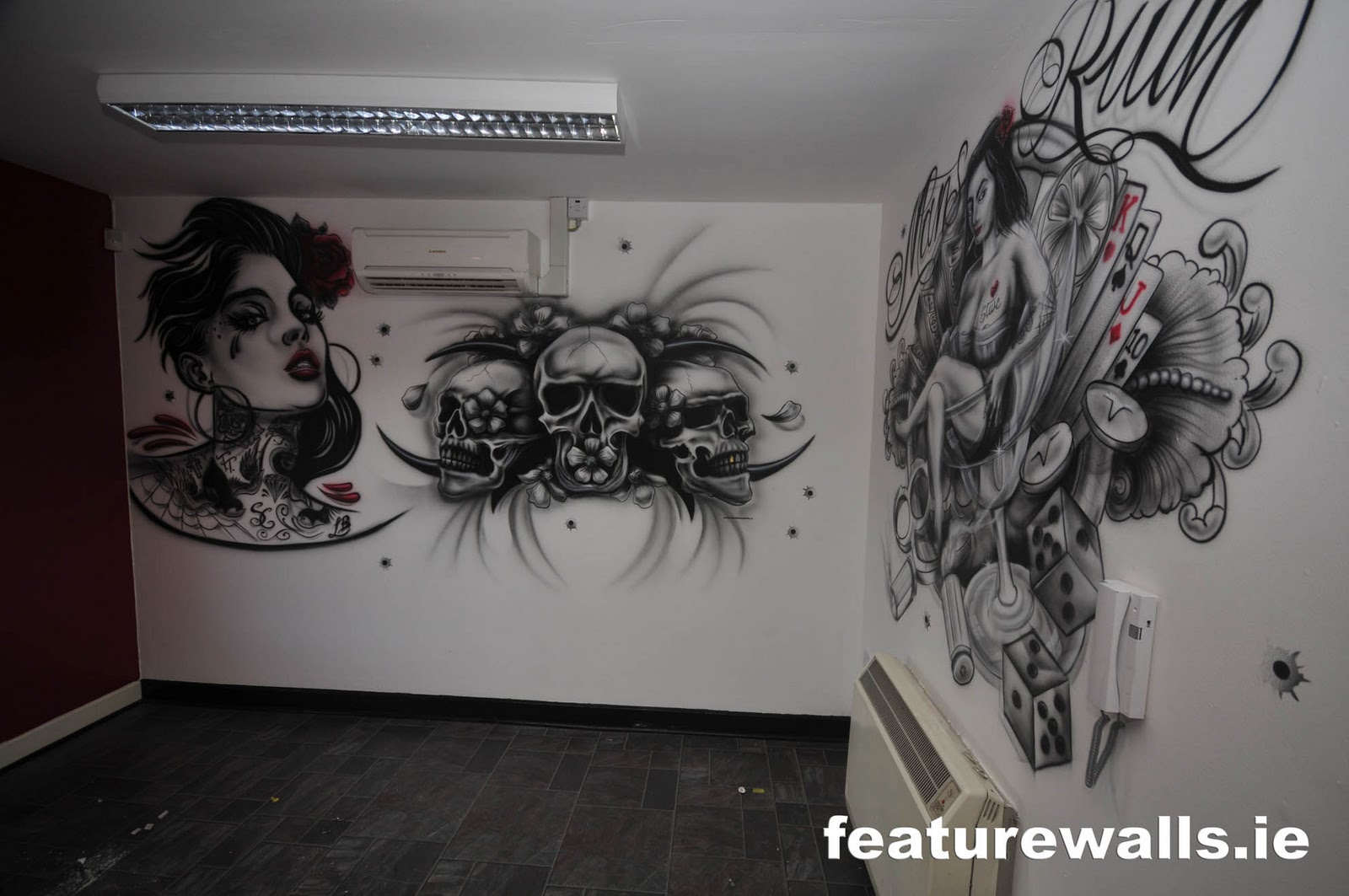 Tattoo studio design joy studio design gallery best design for Back mural tattoo designs
